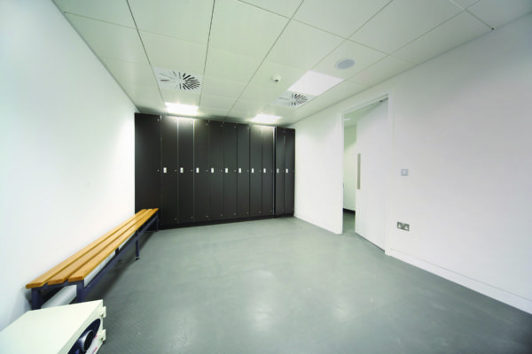 Hygienic walls and floor system
