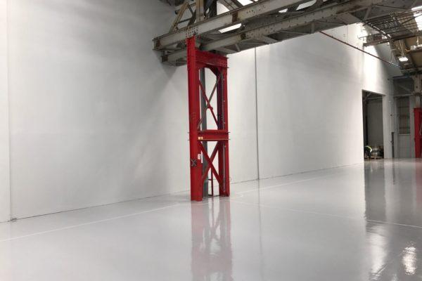 NEC grey floor