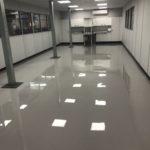anti-static grey floor