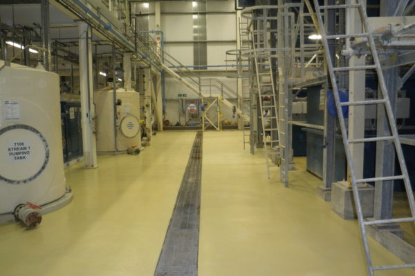 food production flooring