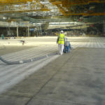 heathrow hangar floor preparation 2006