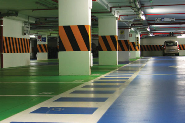 car park decking system