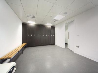 hygienic walls and flooring