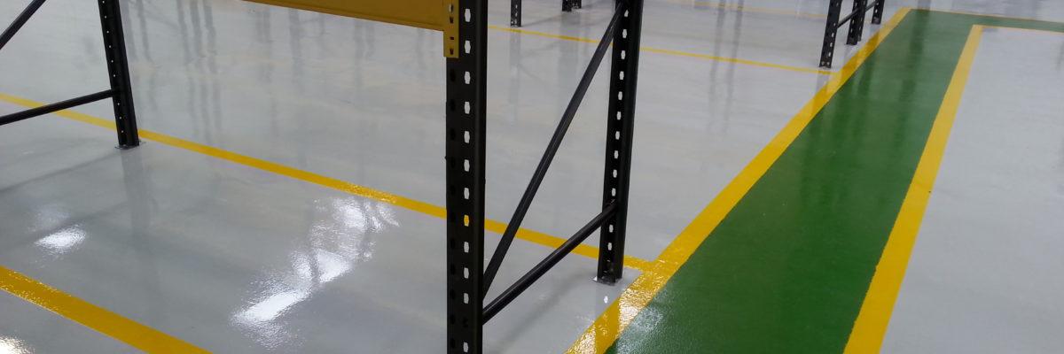warehouse resin floor
