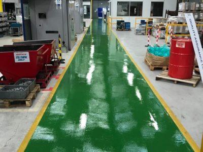 grene resin flooring