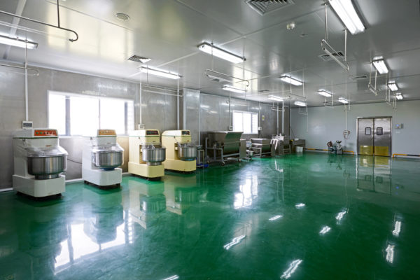 3mm Polyurethane food mixing room