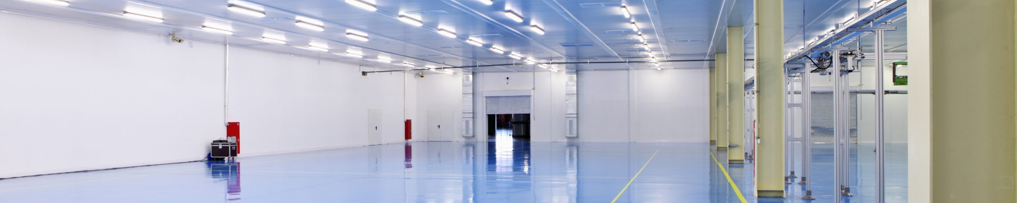Epoxy resin floor aerospace
